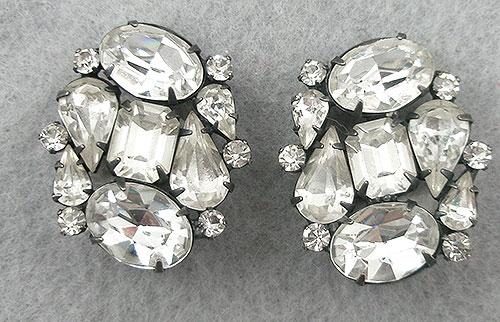 Weiss - Weiss Rhinestone Earrings