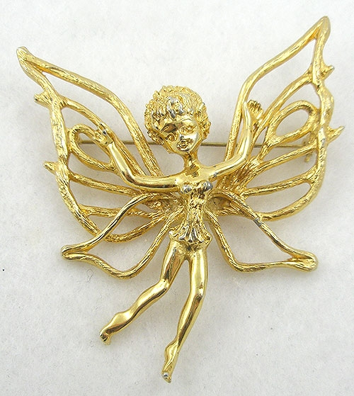Brooches - Tortolani Fairy Brooch