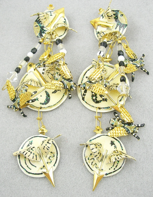 Lunch at the Ritz - Lunch at the Ritz Time Flies Earrings