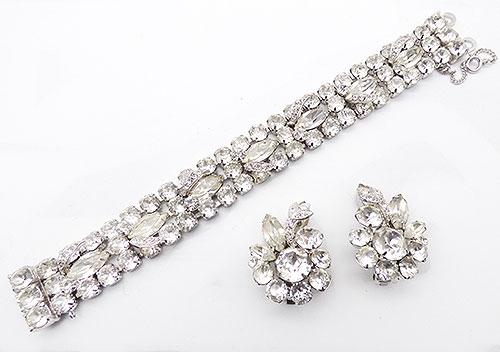 Newly Added Eisneberg Crystal Rhinestone Bracelet Set