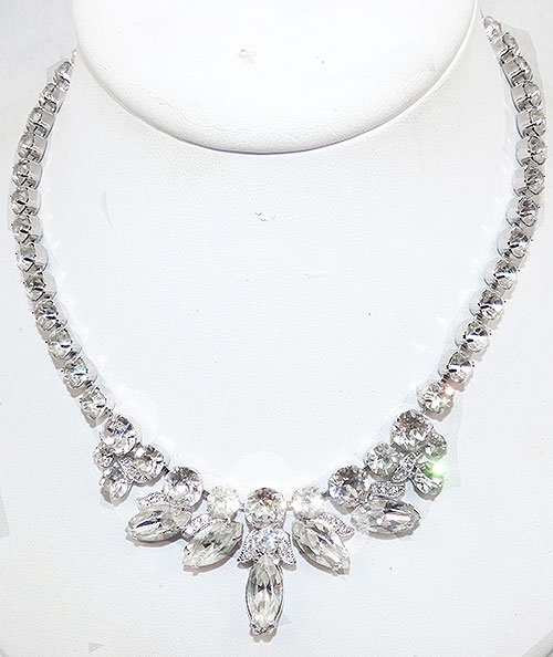 Newly Added Eisenberg Ice Rhinestone Necklace