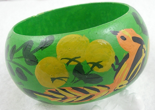 Bracelets - Tropical Painted Bangle