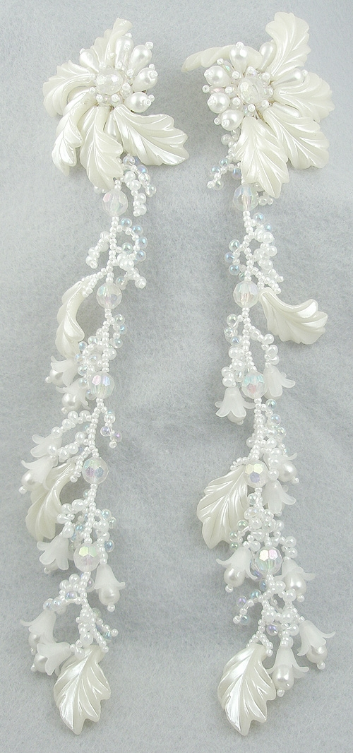 Misc. Signed S-Z - Colleen Toland Shoulder Duster Earrings