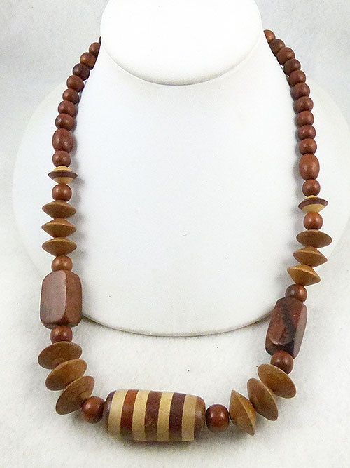 $25 or Less - Wooden Beads Necklace
