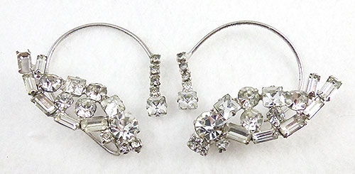 Earrings - DeLizza & Elster Ear Wrap Chignon Earrings