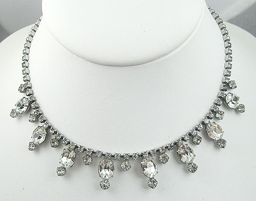 Necklaces - Astra (Joseph Wiesner) Rhinestone Necklace