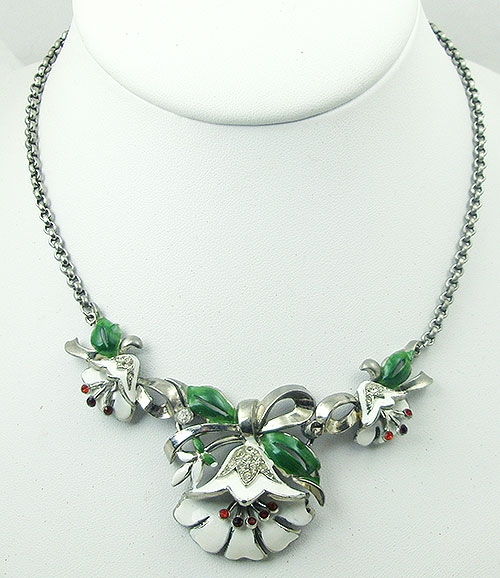 Florals - Coro Lotus Flower Necklace