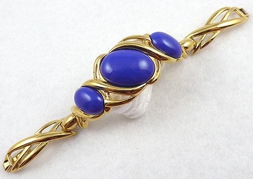 Monet - Monet Cobalt Cabochon Bracelet