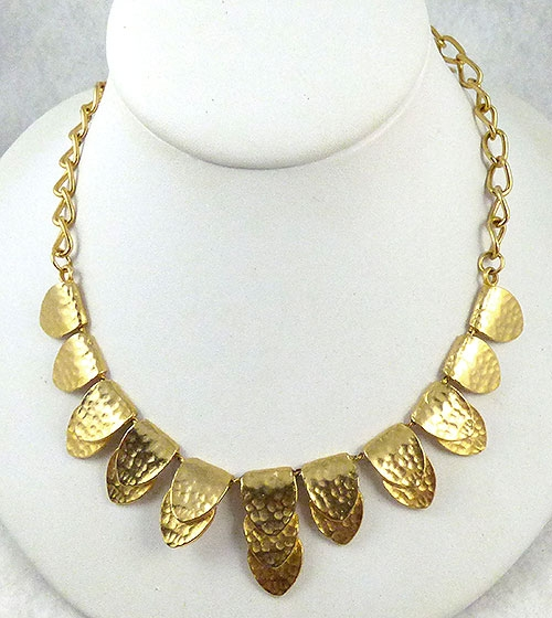 Necklaces - Ultra Craft Gold Petals Necklace