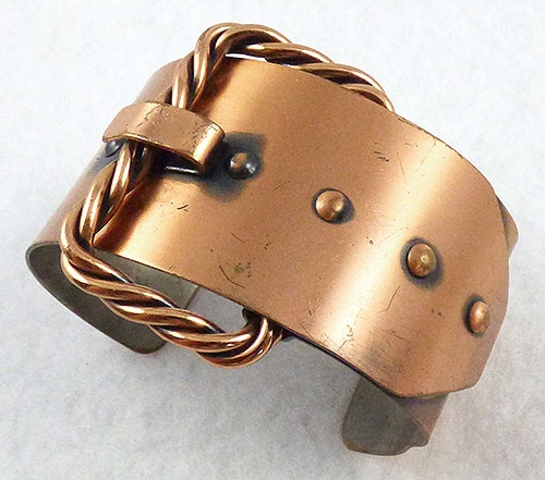 Renoir/Matisse - Renoir Copper Buckle Cuff Bracelet