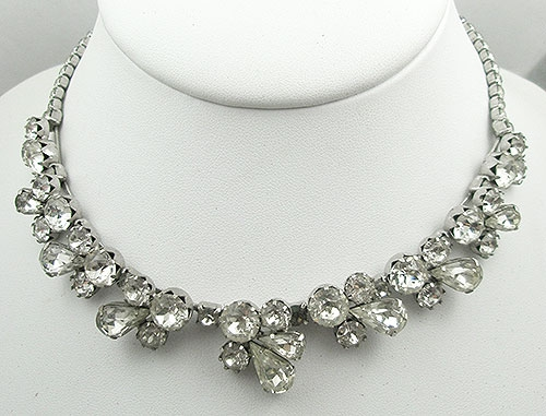 Bridal, Wedding, Special Occasion - Weiss Rhinestone Necklace
