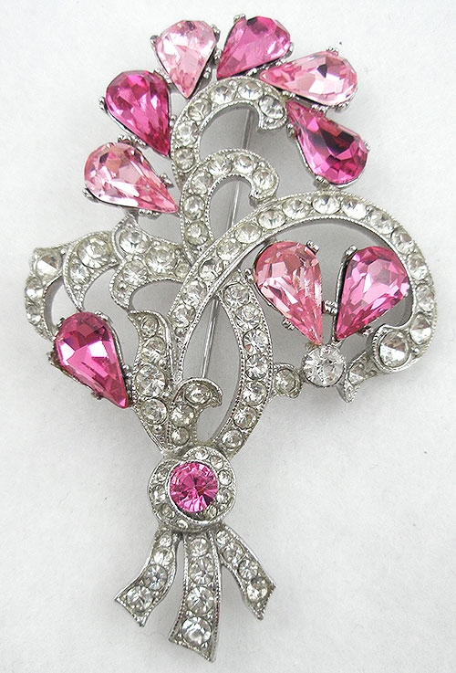 Brooches - Bogoff Floral Brooch