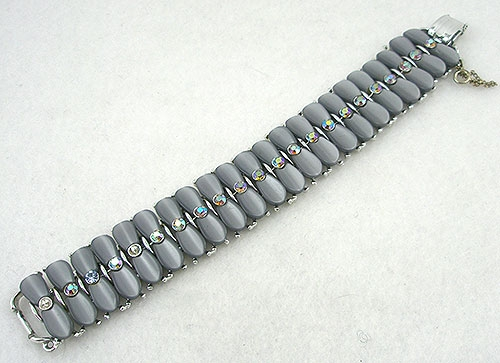 Winter Colors Jewelry - Star Gray Thermoplastic Bracelet