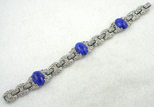 Coro/Corocraft - Coro Art Deco Rhinestone Bracelet