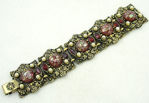 Selro/Selini - Selro/Selini Red Confetti Bracelet