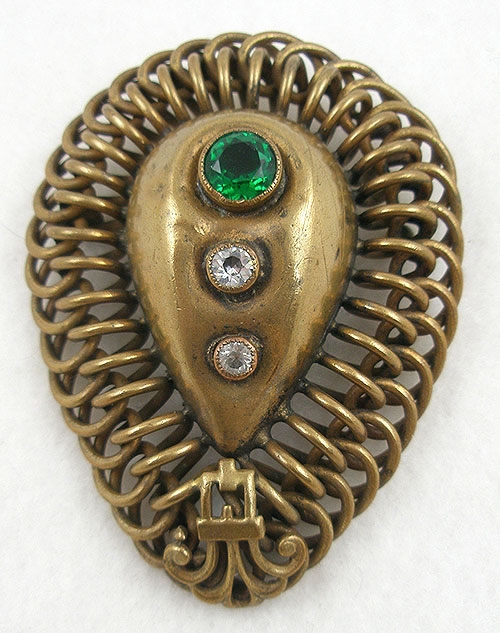 Brooches - Joseff of Hollywood Ornamental Brooch