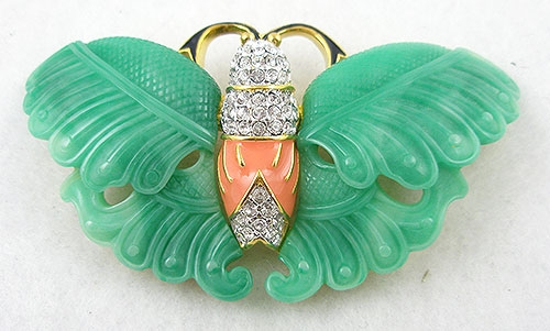 Lane, Kenneth J. - Kenneth Lane K.J.L. Butterfly Brooch