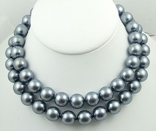 Lane, Kenneth J. - Kenneth Lane Simulated Tahitian Pearl Necklace