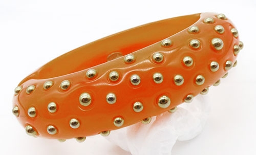 Lane, Kenneth J. - Kenneth Lane Amber Resin Bangle