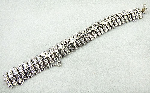 Newly Added Weiss Rhinestone Bracelet