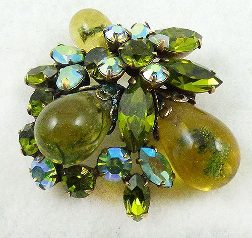 Regency - Regency Jewels Glass Drop Brooch