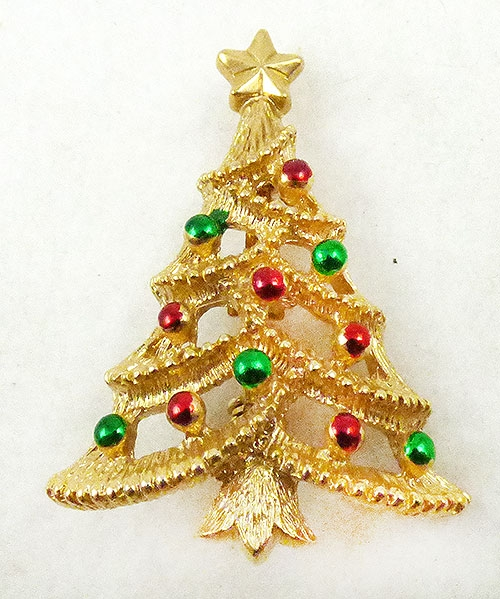 Christmas and Holidays - Gerry's Christmas Tree Brooch