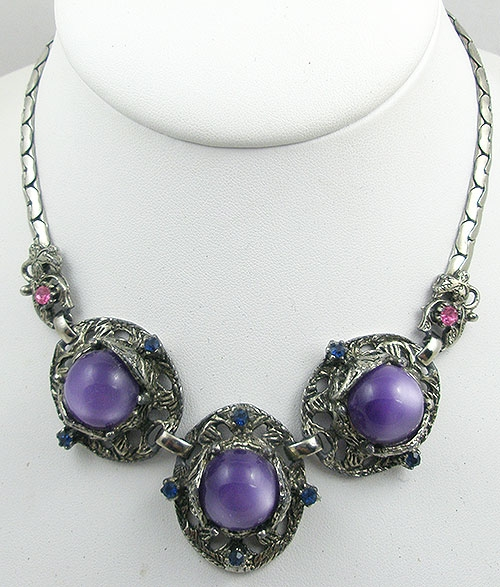 Selro/Selini - Selro Purple Moonglow Necklace