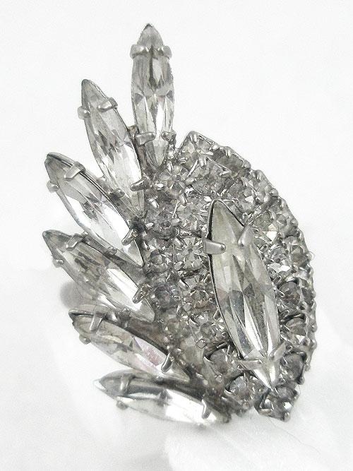 Rings - Vintage Rhinestone Cocktail Ring