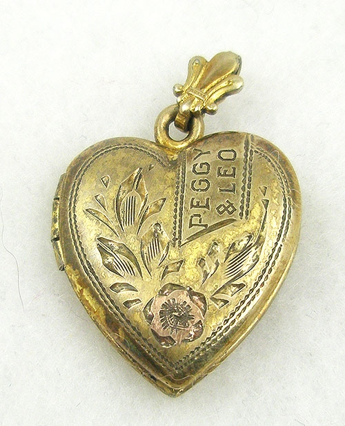 Hearts - Gold Filled Sweetheart Locket