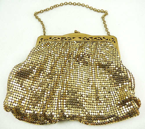 Purses - Whiting and Davis Gold Mesh Purse