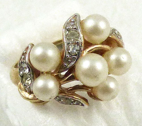Pearl Jewelry - Avon Simulated Pearl Ring