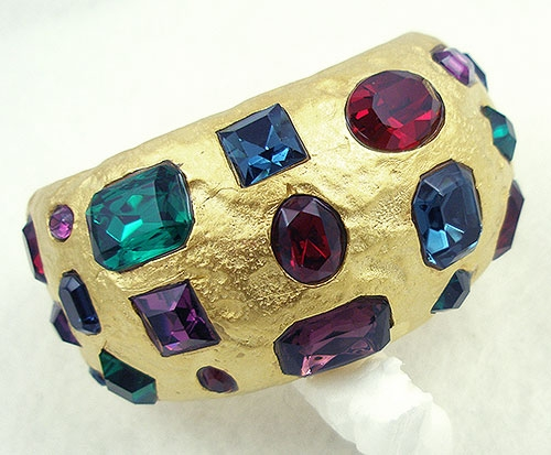 Lane, Kenneth J. - Kenneth Lane Jeweled Cuff Bracelet