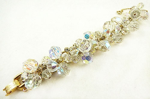 Newly Added DeLizza and Elster Dangling Crystal Beads Bracelet