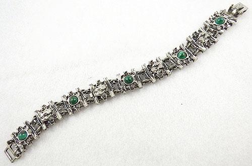 Mid-Century Modern - Modernist Brutalist Metal Bracelet