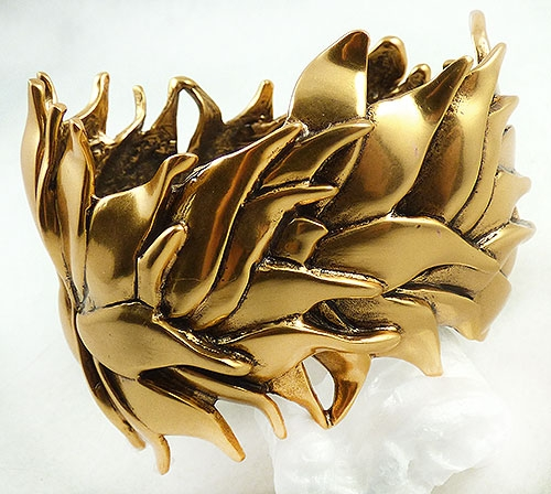 Leaves & Plants - Oscar de La Renta Gold Leaves Bacelet