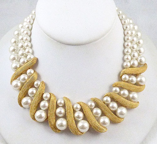 Pearl Jewelry - Napier Faux Pearl Necklace