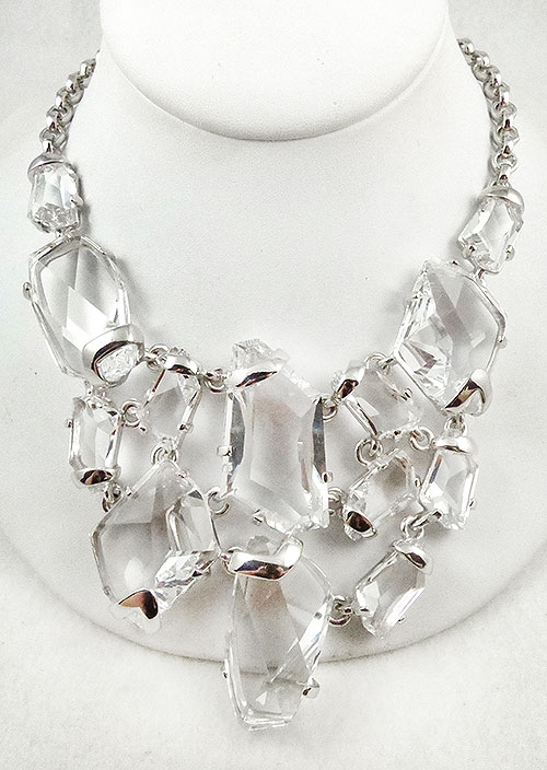 Lane, Kenneth J. - Kenneth J. Lane Empire Stone Crystal Necklace