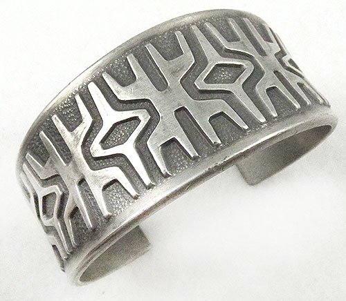 Newly Added Brodrene Mylius Norway pewter bracelet