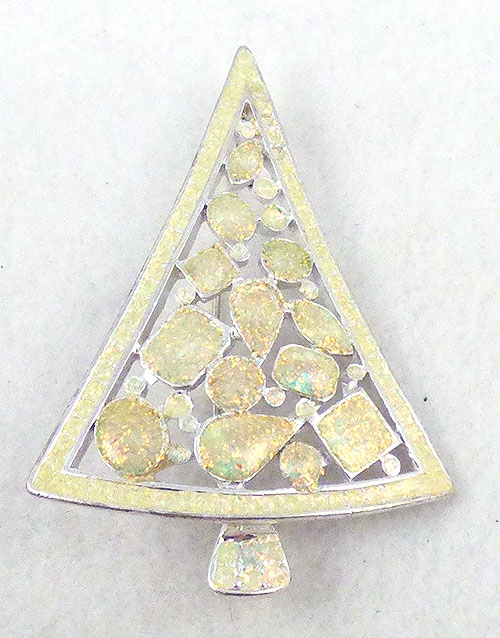 Brooches - Lia glitter Xmas tree
