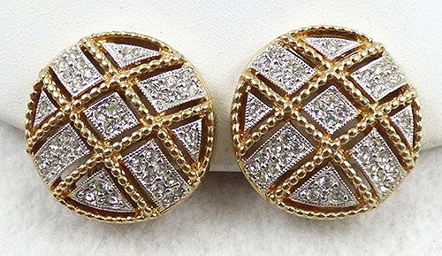 Earrings - Piscitelli Rhinestone Earrings