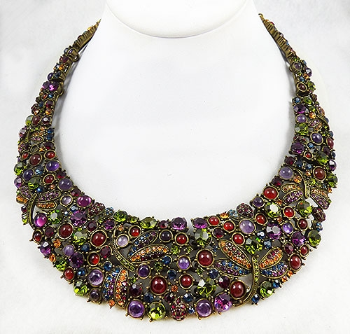 Autumn Fall Colors Jewelry - Heidi Daus Fantasy in Flght Necklace