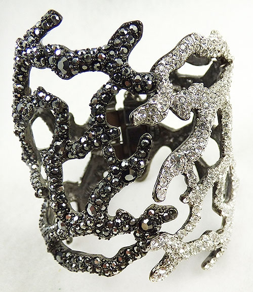 Lane, Kenneth J. - Kenneth Lane KJL Rhinestone Branch Bracelet