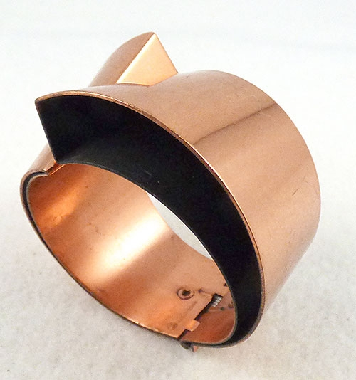 Trend: Fall-Winter 2018-2019 Bracelets - Renoir Copper Modernist Bracelet