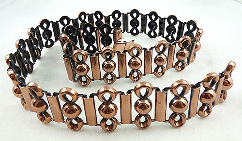 Belts & Buckles - Copper Link Belt