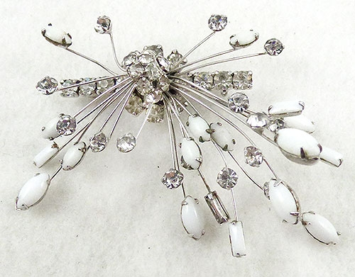 Atomic & Celestial - Marvella Rhinestone Atomic Brooch