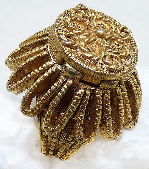 Newly Added Florenza Gold Tone Poison Ring
