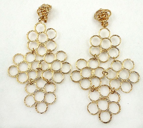 Newly Added God Circles Statement Earrings