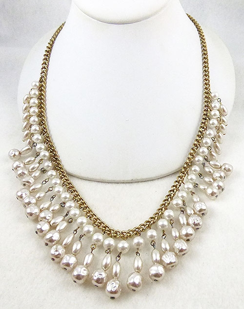 Japan - Japan Drippy Pearl Necklace