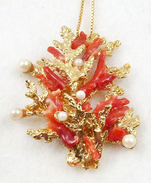 Newly Added Swoboda Coral Pendant