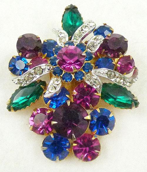 Newly Added Rhinestone Jewels Brooch